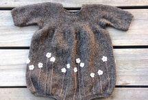knit baby romper aio's