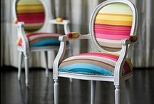 Take a seat / I do, I just love them, shape size, colour, pattern. Functional or not - I adore them. / by Sweet Scarlet Designs