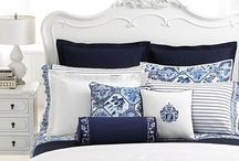 Blue and White / Blue and white home decor inspiration
