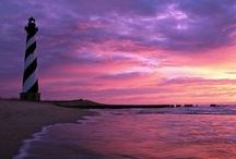 Outer Banks Lighthouses / The Outer Banks is home to some of the most historic lighthouses in all of The United States.