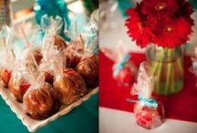 Aqua/Red Wedding + Event Style / by Katie Martin
