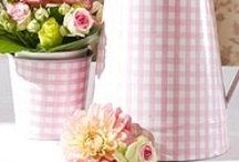 Gingham and Checks - Interiors, fashion, products / Gingham/buffalo checks in interiors