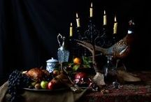 Fall Into Thanksgiving / Autumn and Thanksgiving Foods and Decorating Ideas for Table and Home / by Diane Nichols