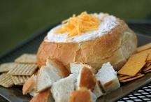 Dips/Spreads/Hummus/Salsas/Fondues/Nachos,Etc... / Party Foods! / by Dorene Clayton