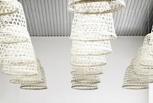 Lighting - Inspiring lights & DIY Lighting Ideas / Lighting for interiors, dining/living/kitchen all that inspires me