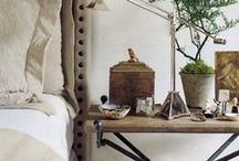 Neutral/naturals interiors / Interiors in neutral shades without colour