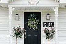 curb appeal / It is easy to create a little curb appeal with some inspiration.