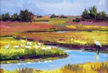 Art Galleries of the OBX / Many local artists are inspired by all of the beauty that the Outer Banks has to offer.