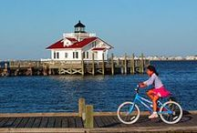 Outdoors in the Outer Banks / The Outer Banks offers many places to play- see them all here!