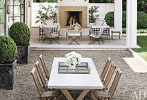 Outdoor patio ideas / by Lee Caroline  - A World of Inspiration