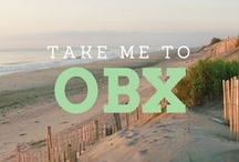Beach quotes of the Outer Banks / Be inspired for your next Outer Banks vacation with these beachy OBX quotes.