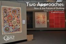 Two Approaches:  Now & Future of Quilting