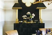 Black & Gold Interiors