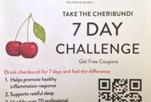 Cheribundi 7-day Challenge  / Feel the benefits of tart cherries by drinking Cheribundi for 7-days! / by cheribundi