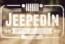 Jeeps! Jeeps! Jeeps! / Uniting all Jeepers! A social network for YOU, the Jeep lover! JeepedIn.com is THE place to find others who share your passion for the Jeep life. We are all #jeepedin   www.jeepedin.com www.facebook.com/jeepedin