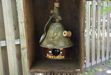 For the Birds / Bird houses, feeders, baths..... / by Sherrie Sutley
