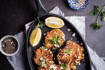 food: fritter / patty