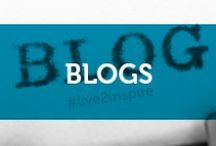 BLOGS / These aren't just blogs, they are inspiring, useful, informative and sometimes just silly and random things that happen to be rolling around in my brain and also the brains of so many others.