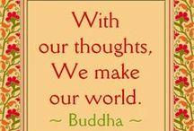 Mindfulness / Pins of mindful meditation, Buddhist sayings, etc.
