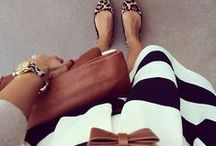 Stripes On Stripes Black & White