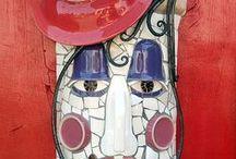 Mosaic / Great art tiles and mosaics...