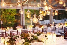 Wedding Ideas / http://www.etsy.com/listing/81329086/mr-mrs-burlap-table-runner-14-x-114 / by Monica Cook