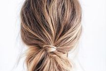 Beauty / beauty, make up, natural, long hair, ombre, balayage, sunshine, natural look, minimal, braids, effortless, messy hair, blonde, brunette, low bun, messy bun, easy hairstyles