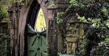 Gothic Gardens / Inspiration for your Gothic garden ...