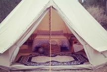 Go Glamping / To posh to pitch? Or simply after some stress-free family time? Go glamping with Pitchup.com's best tipis, yurts, wigwams and domes. / by Pitchup.com