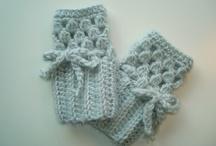 Crochet Hats, Leg Warmers, Wristlets