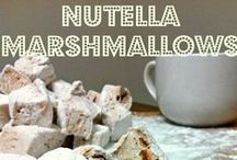 Holy Nutella, FatMan! / Nutella recipes, desserts, and all kinds of awesomeness / by Amiyrah @ 4 Hats and Frugal