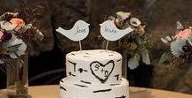 Wedding Cake Inspo! / Beautifully decorated and tasty  cakes!