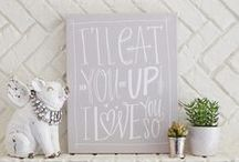 [Canvases]: Things to paint / quotes and canvas ideas  / by Kasey Bruckner
