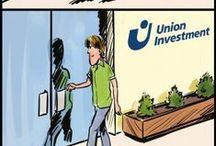 Komiksy inwestycyjne / Dowiedz się, jakie korzyści niesie ze sobą inwestowanie i sprawdź, jak inwestować krok po kroku.