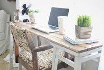 My Office Space / No boys (decor input) allowed! EEK