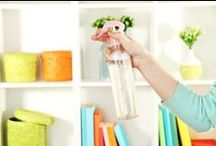 Spring Cleaning Tips and Tricks / Tackle spring cleaning with these awesome checklists, tips, hacks, and ideas.