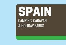 Spain Sites / Park yourself at a Spanish campsite for a budget-friendly break and tap-as into the tonnes of activities and attractions of the Spanish regions. Here's our pick of the best camping, caravanning and holiday parks Spain has to offer.  / by Pitchup.com