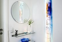 Installations / Home & Businesses / Unique and exclusive glass installations by Branka Lugonja.