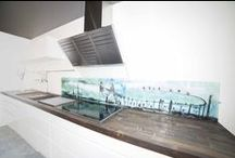 Splashbacks / Kitchens / Glass