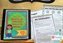 Substitute Teaching / For Substitute Teachers
