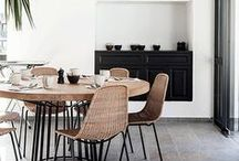 Our City Condo / apartment, condo, condominium, downtown, city, city living, mid mod, mid century modern, historic, historical building, white walls, leather furniture, wood floors, high ceilings