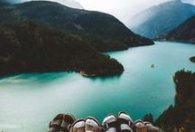 Washington State Inspiration / Washington State - PNW - Pacific Northwest - Evergreen - Road Trip -Camping - Seattle - Spokane - Rain - Space Needle - Mt. Rainier - Cascade Mountains - North Cascades National Park - mountain - snow - lake - coast -ocean - beach - woods -explore