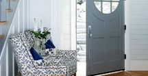 Grand Entrances / Inspirational pieces to make a great first impression at your entryway.