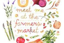 Farmers Markets / Allgood Provisions is popping up at a Farmer's Market near you. Eat local and love the local with the freshest food around.