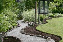 Garten / Gestaltung des Gartens, Deko, Pflanzen
