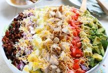 Salads / by Barb Blystra
