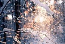 L'hiver - la neige <3