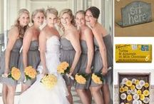 WEDDINGS... Yellow & Grey / by SIMPLE WISHES - Cindy Norman