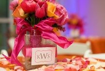 WEDDINGS... Pink & Orange / by SIMPLE WISHES - Cindy Norman