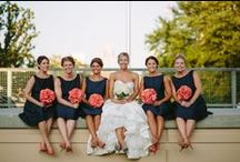WEDDINGS... Navy & Coral / by SIMPLE WISHES - Cindy Norman